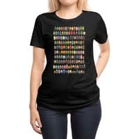 Mini Pixels - womens-regular-tee - small view