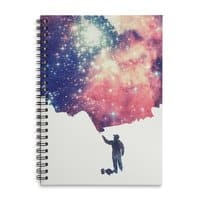 Painting the Universe - spiral-notebook - small view