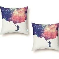 Painting the Universe - throw-pillow - small view
