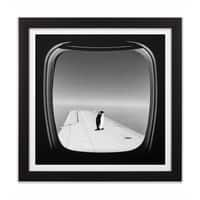 Window Seat - black-square-framed-print - small view