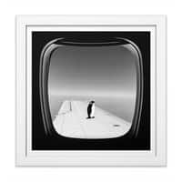 Window Seat - white-square-framed-print - small view