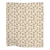 Where the Jackalopes Play - blanket - small view