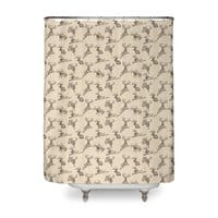 Where the Jackalopes Play - shower-curtain - small view