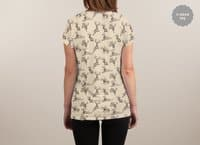 Where the Jackalopes Play - womens-sublimated-v-neck - small view