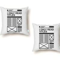 Titles - throw-pillow - small view