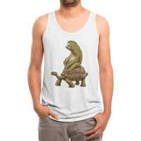 Speed is Relative - mens-triblend-tank - small view