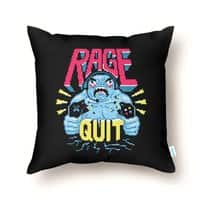 RAGE QUIT - throw-pillow - small view