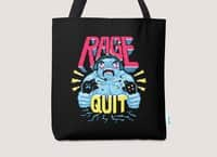 RAGE QUIT - tote-bag - small view