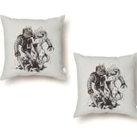 Science vs Fantasy - throw-pillow - small view