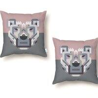 Your Bear - throw-pillow - small view