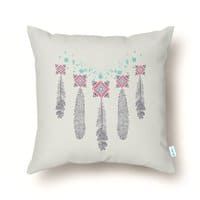 Freedom Feathers - throw-pillow - small view