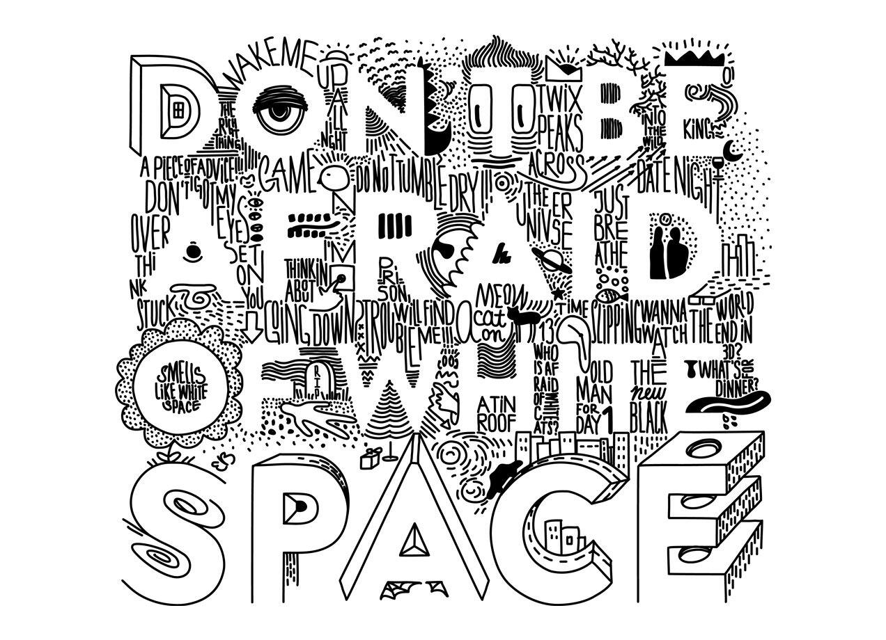 Don't Be Afraid Of White Space By Janamis