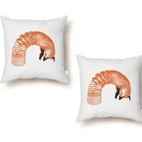 Spring Fox - throw-pillow - small view