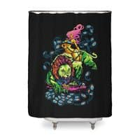 SOUR PUSS - shower-curtain - small view