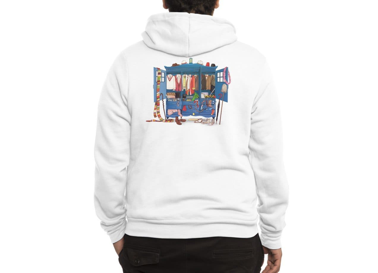 Who Do You Want To Be Today By Alicia B Zip Up Hoody Threadless