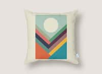 Rows of Valleys - throw-pillow - small view