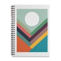 Rows of Valleys - spiral-notebook - small view