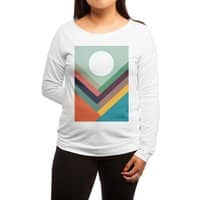 Rows of Valleys - womens-long-sleeve-terry-scoop - small view