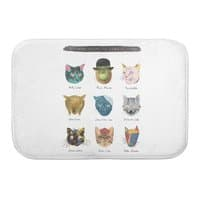 Art & Meow - bath-mat - small view