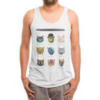 Art & Meow - mens-triblend-tank - small view