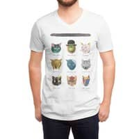 Art & Meow - vneck - small view
