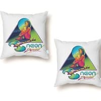 Neon Dead - throw-pillow - small view