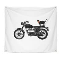 Purrfect Roadtrip... - indoor-wall-tapestry - small view