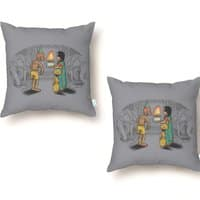I Can't Blow Out the Candles - throw-pillow - small view