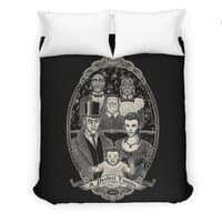Strange Portrait of a Perfect Family - duvet-cover - small view