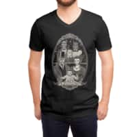 Strange Portrait of a Perfect Family - vneck - small view