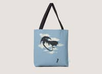 LITTLE GIRL PLAYING - tote-bag - small view