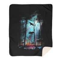Shark Forest - blanket - small view