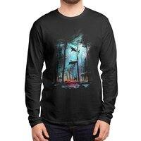 Shark Forest - mens-long-sleeve-tee - small view