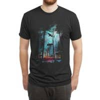 Shark Forest - mens-triblend-tee - small view