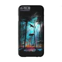 Shark Forest - perfect-fit-phone-case - small view