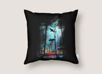 Shark Forest - throw-pillow - small view