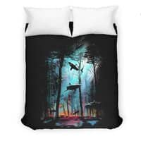 Shark Forest - duvet-cover - small view