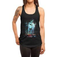 Shark Forest - womens-racerback-tank - small view