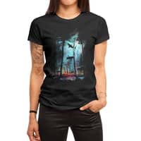 Shark Forest - womens-regular-tee - small view