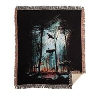 Shark Forest - woven-blanket - small view