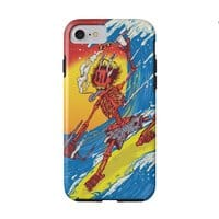 Skull Surfer - double-duty-phone-case - small view