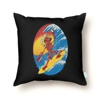 Skull Surfer - throw-pillow - small view