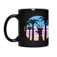 Trouble in Paradise - black-mug - small view