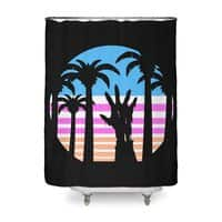 Trouble in Paradise - shower-curtain - small view