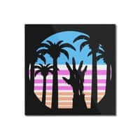 Trouble in Paradise - square-mounted-acrylic-print - small view