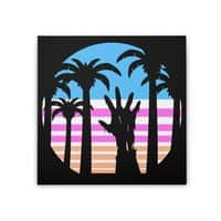 Trouble in Paradise - square-stretched-canvas - small view