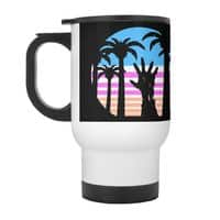 Trouble in Paradise - travel-mug-with-handle - small view