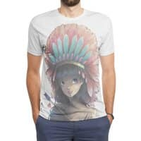 Tiger Lily - mens-sublimated-triblend-tee - small view