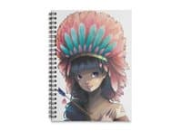 Tiger Lily - spiral-notebook - small view
