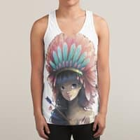 Tiger Lily - sublimated-tank - small view